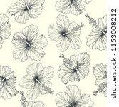 vector vintage seamless pattern ... | Shutterstock .eps vector #1153008212