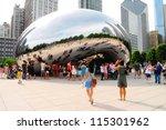 chicago   june 25  chicago... | Shutterstock . vector #115301962