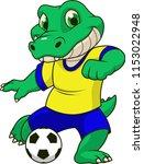 vector illustration of a funny... | Shutterstock .eps vector #1153022948