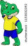 vector illustration  funny ... | Shutterstock .eps vector #1153032392