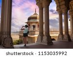 agra  india  february 12 2018 ... | Shutterstock . vector #1153035992