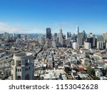 aerial view downtown san... | Shutterstock . vector #1153042628
