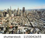 aerial view downtown san... | Shutterstock . vector #1153042655