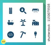 modern  simple vector icon set... | Shutterstock .eps vector #1153075535
