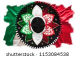 flag of mexico. mexican... | Shutterstock . vector #1153084538