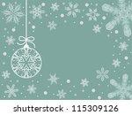 seasonal greetings   Shutterstock .eps vector #115309126