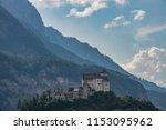 gutenberg castle  liechtenstein   Shutterstock . vector #1153095962
