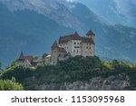gutenberg castle  liechtenstein | Shutterstock . vector #1153095968