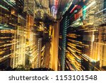unfocused  blurred zoom night...   Shutterstock . vector #1153101548