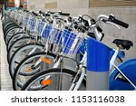 A Number Of Rental Bikes For...