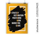 inspiring motivation quote... | Shutterstock .eps vector #1153119425