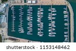 aerial looking down at many... | Shutterstock . vector #1153148462