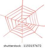 illustration of colorful spider ... | Shutterstock .eps vector #1153157672