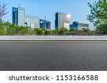 urban traffic road with... | Shutterstock . vector #1153166588