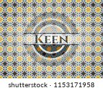 keen arabesque badge. arabic... | Shutterstock .eps vector #1153171958