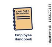 new employee hiring process... | Shutterstock .eps vector #1153172855