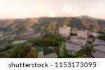 aerial view of brinchang ... | Shutterstock . vector #1153173095