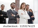 successful business team... | Shutterstock . vector #1153176125