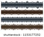vintage ornament seamless...   Shutterstock .eps vector #1153177252