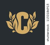 sign of the letter c | Shutterstock . vector #1153186915