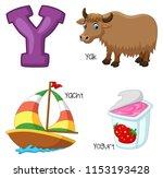 Illustration Of Y Alphabet