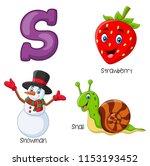 illustration of s alphabet   Shutterstock .eps vector #1153193452