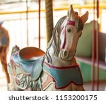 Horse Is Ready To Merry Go Round