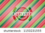 carefree christmas badge... | Shutterstock .eps vector #1153231555