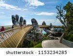 danang  vietnam   july 5  2018  ... | Shutterstock . vector #1153234285