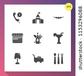 modern  simple vector icon set... | Shutterstock .eps vector #1153296088