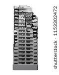 destroyed multi storey building ... | Shutterstock . vector #1153302472