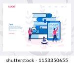 library of encyclopedia  e... | Shutterstock .eps vector #1153350655