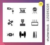 modern  simple vector icon set... | Shutterstock .eps vector #1153353235