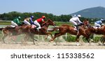 Stock photo the race for the prize of the caucasus russia 115338562