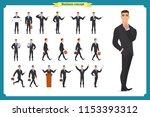 people character business set... | Shutterstock .eps vector #1153393312