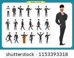 people character business set... | Shutterstock .eps vector #1153393318