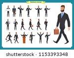 people character business set... | Shutterstock .eps vector #1153393348