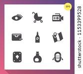 modern  simple vector icon set...   Shutterstock .eps vector #1153399528
