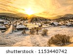 Winter Snow Mountain Valley...