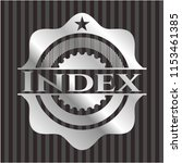 index silvery shiny badge | Shutterstock .eps vector #1153461385