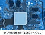 electronic circuit board close... | Shutterstock . vector #1153477732