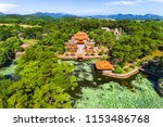 Aerial View Of Vietnam Ancient...