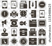 set of 25 icons such as price...