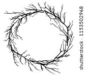Wreath Of Dead Branches