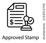 a paper having dollar sign and ...   Shutterstock .eps vector #1153512745