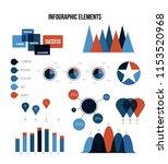 modern data visualisation...   Shutterstock .eps vector #1153520968