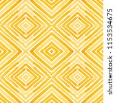 orange geometric watercolor.... | Shutterstock . vector #1153534675