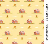 seamless pattern with modern... | Shutterstock .eps vector #1153542355
