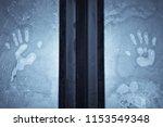 close up shot of a human palms... | Shutterstock . vector #1153549348
