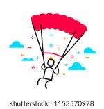 vector business illustration of ... | Shutterstock .eps vector #1153570978